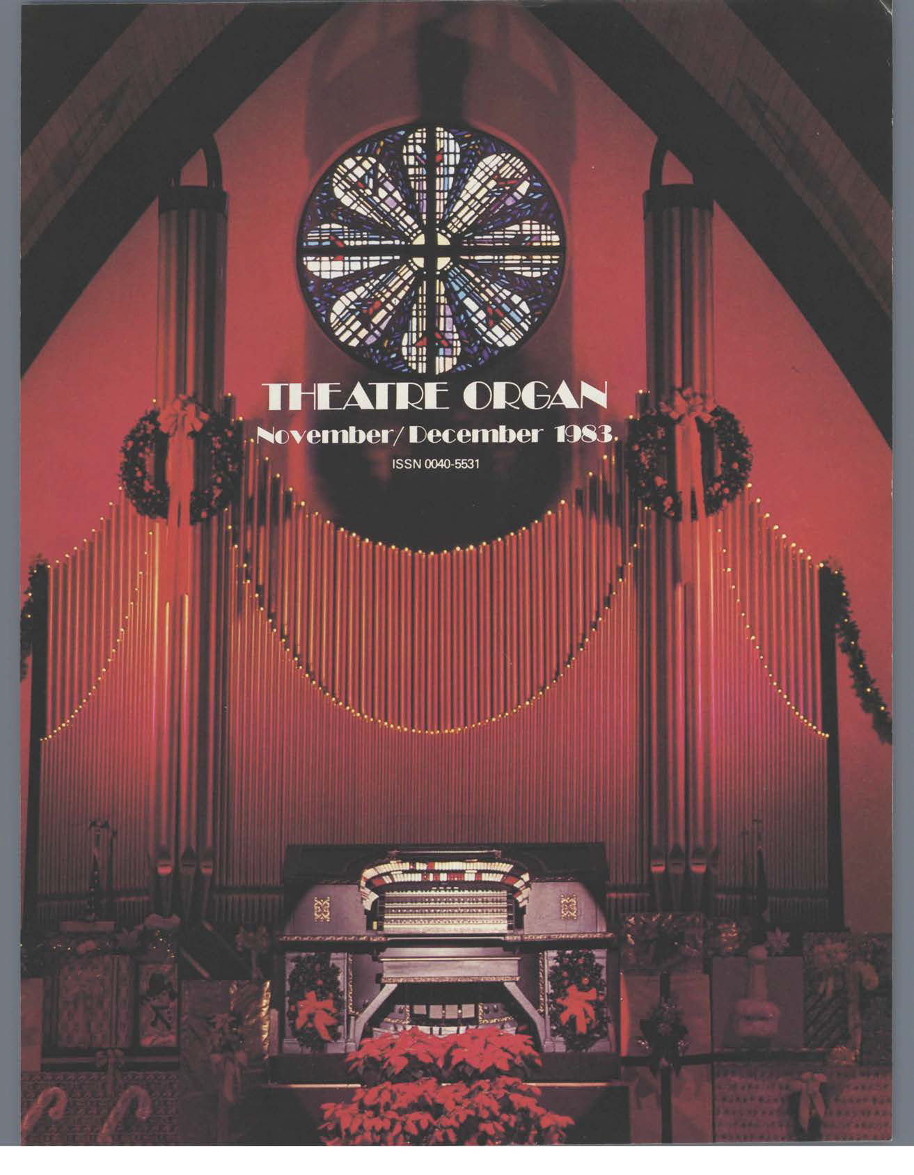 Theatre Organ, November - December 1983, Volume 25, Number 6