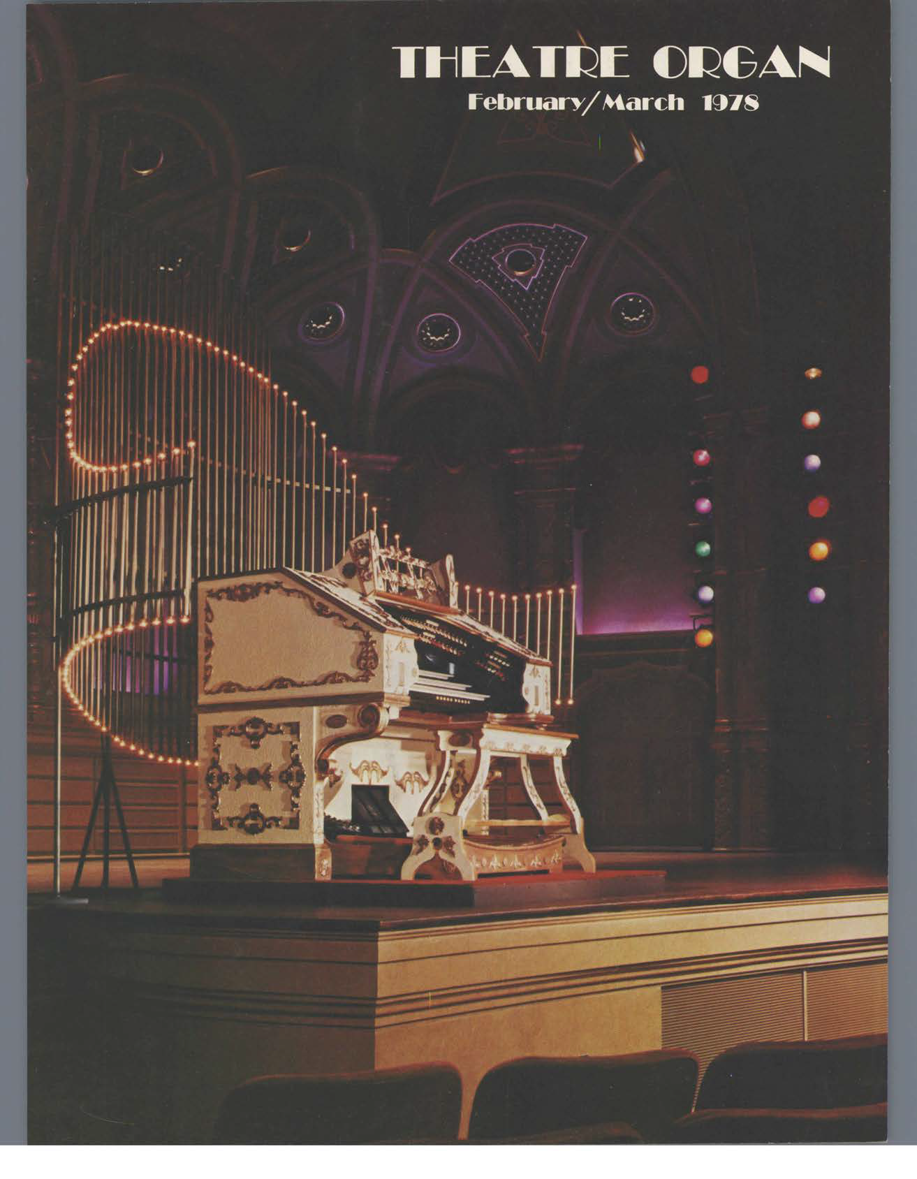 Theatre Organ, February - March 1978, Volume 20, Number 1