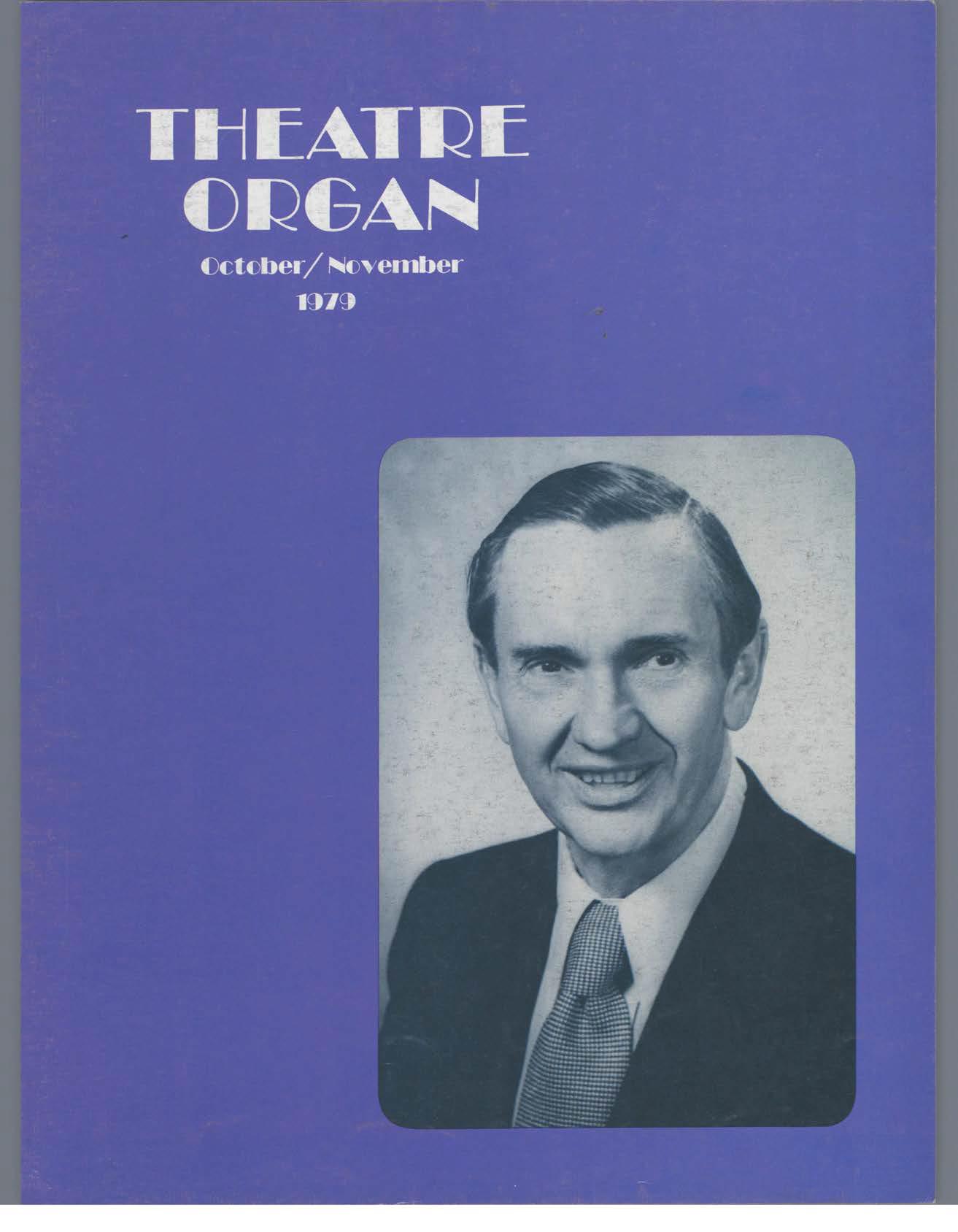Theatre Organ, October - November 1979, Volume 21, Number 5