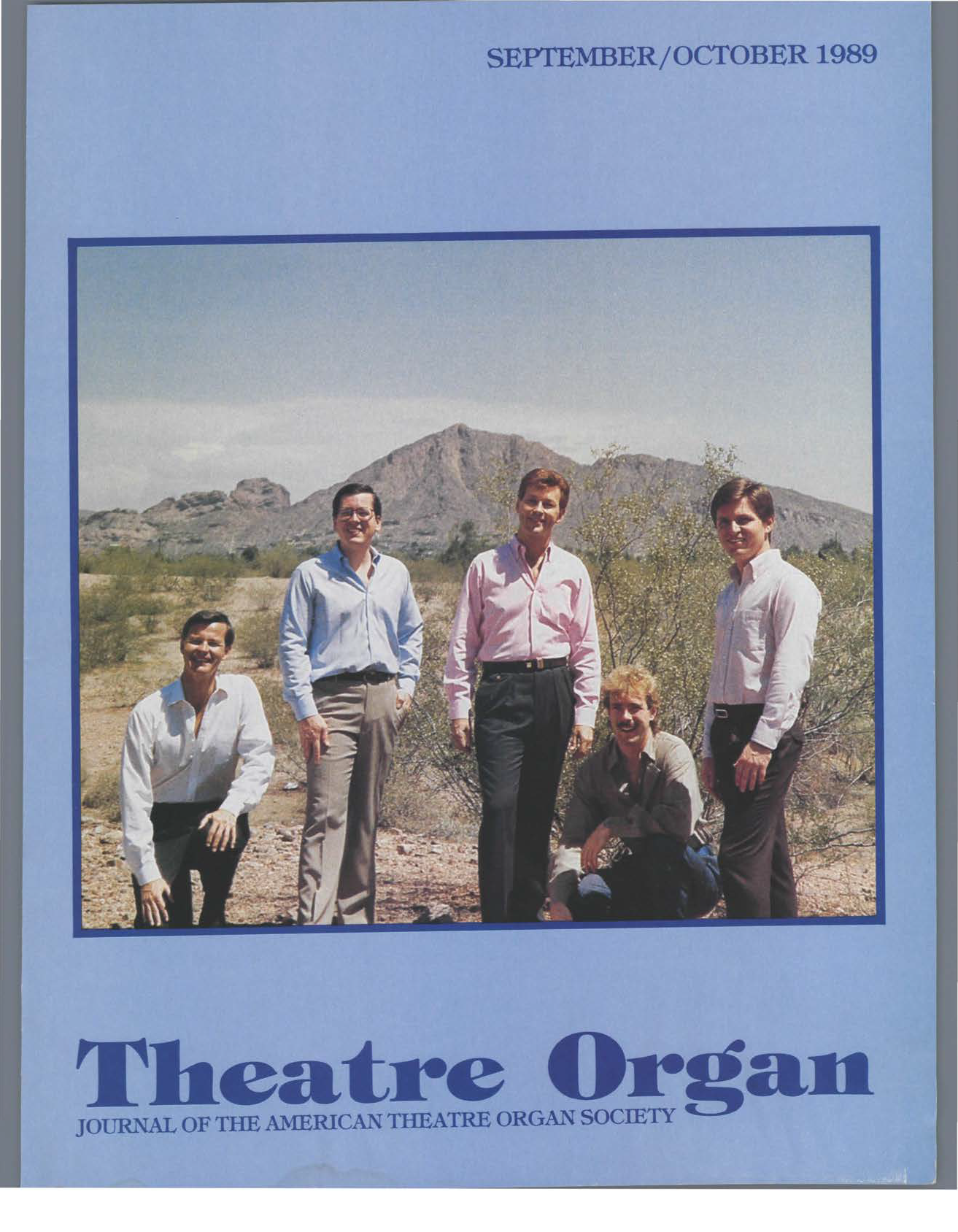 Theatre Organ, September - October 1989, Volume 31, Number 5