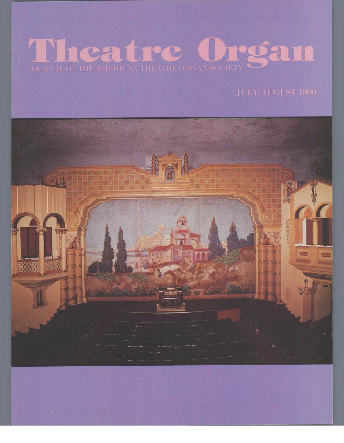 Theatre Organ, January - February 1990, Volume 32, Number 4
