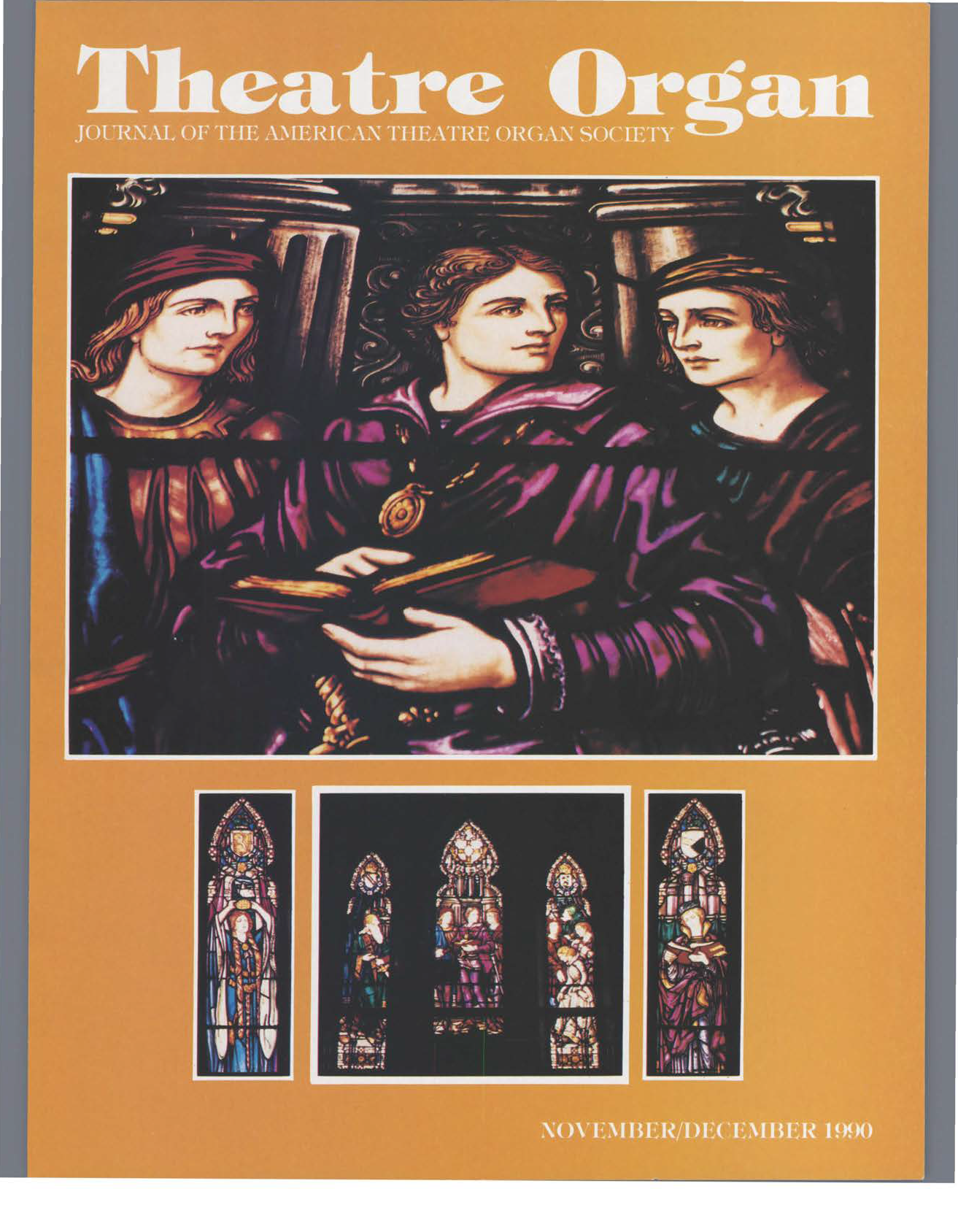 Theatre Organ, November - December 1990, Volume 32, Number 6