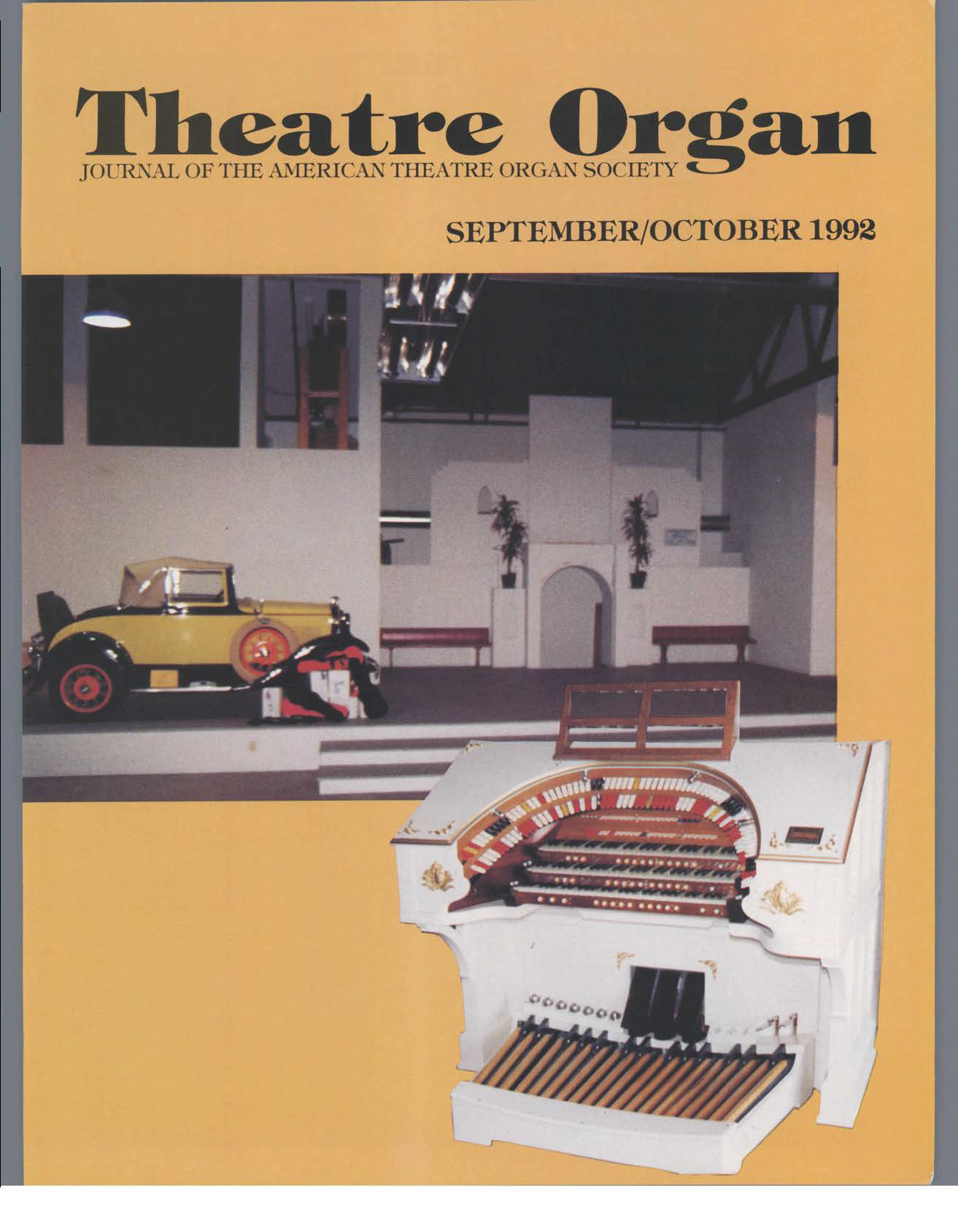 Theatre Organ, September - October 1992, Volume 34, Number 5