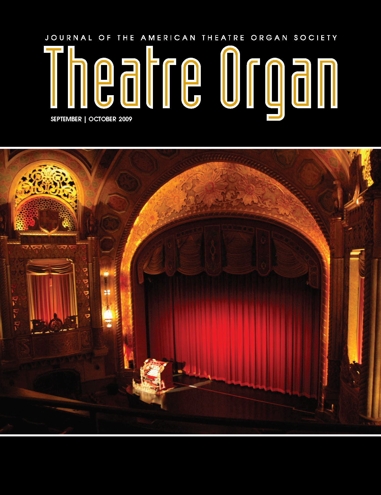 Theatre Organ, September - October 2009, Volume 51, Number 5