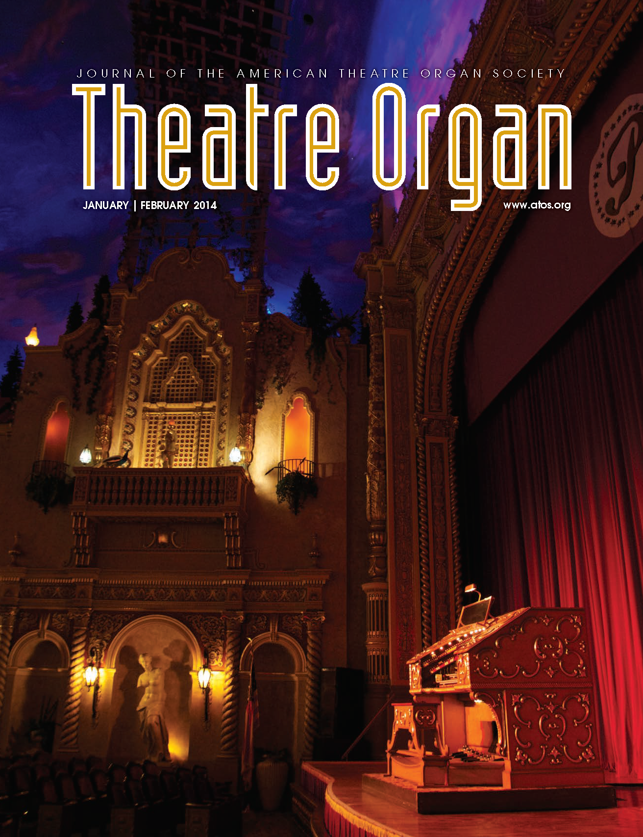 Theatre Organ, January - February 2014, Volume 56, Number 1