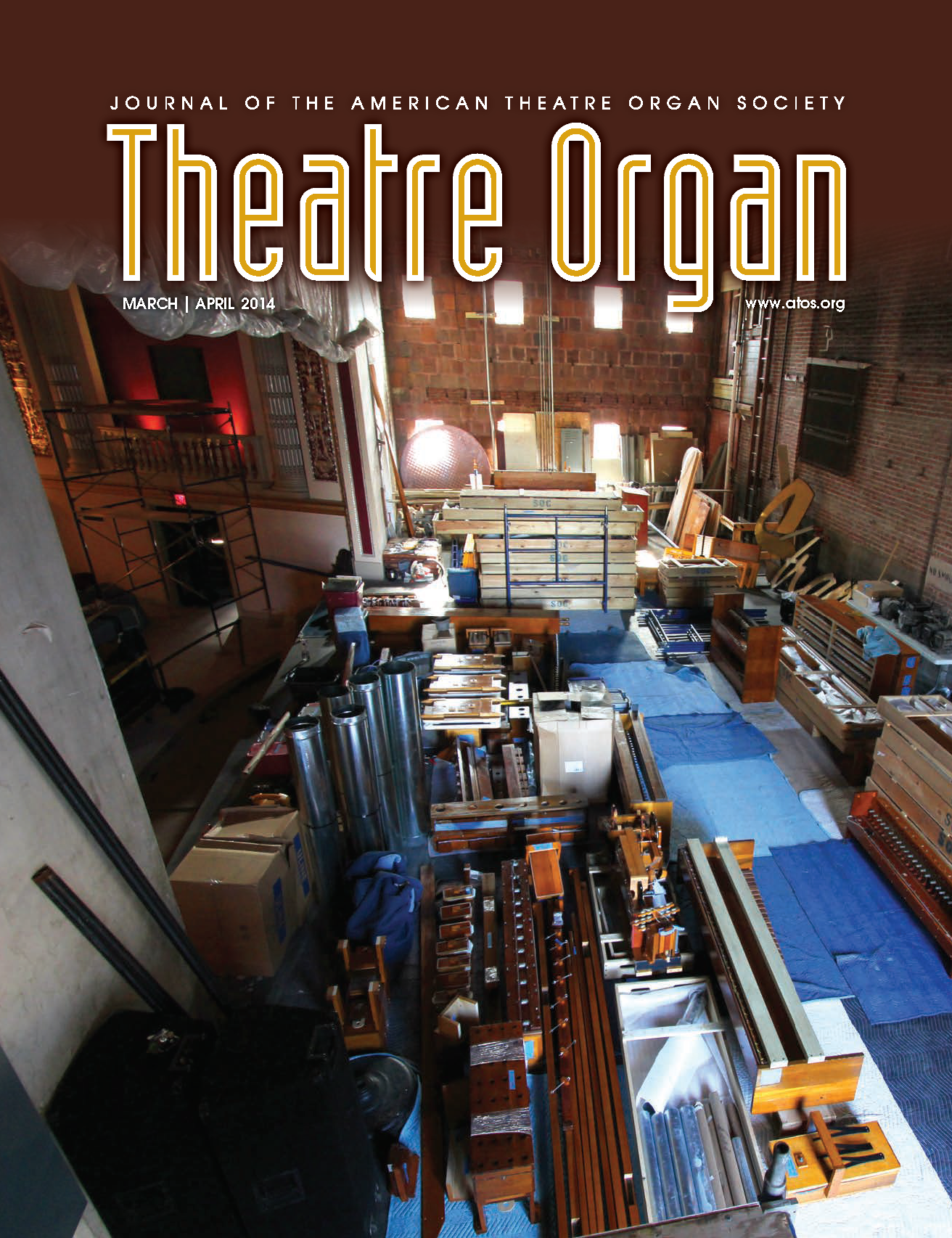 Theatre Organ, March - April 2014, Volume 56, Number 2