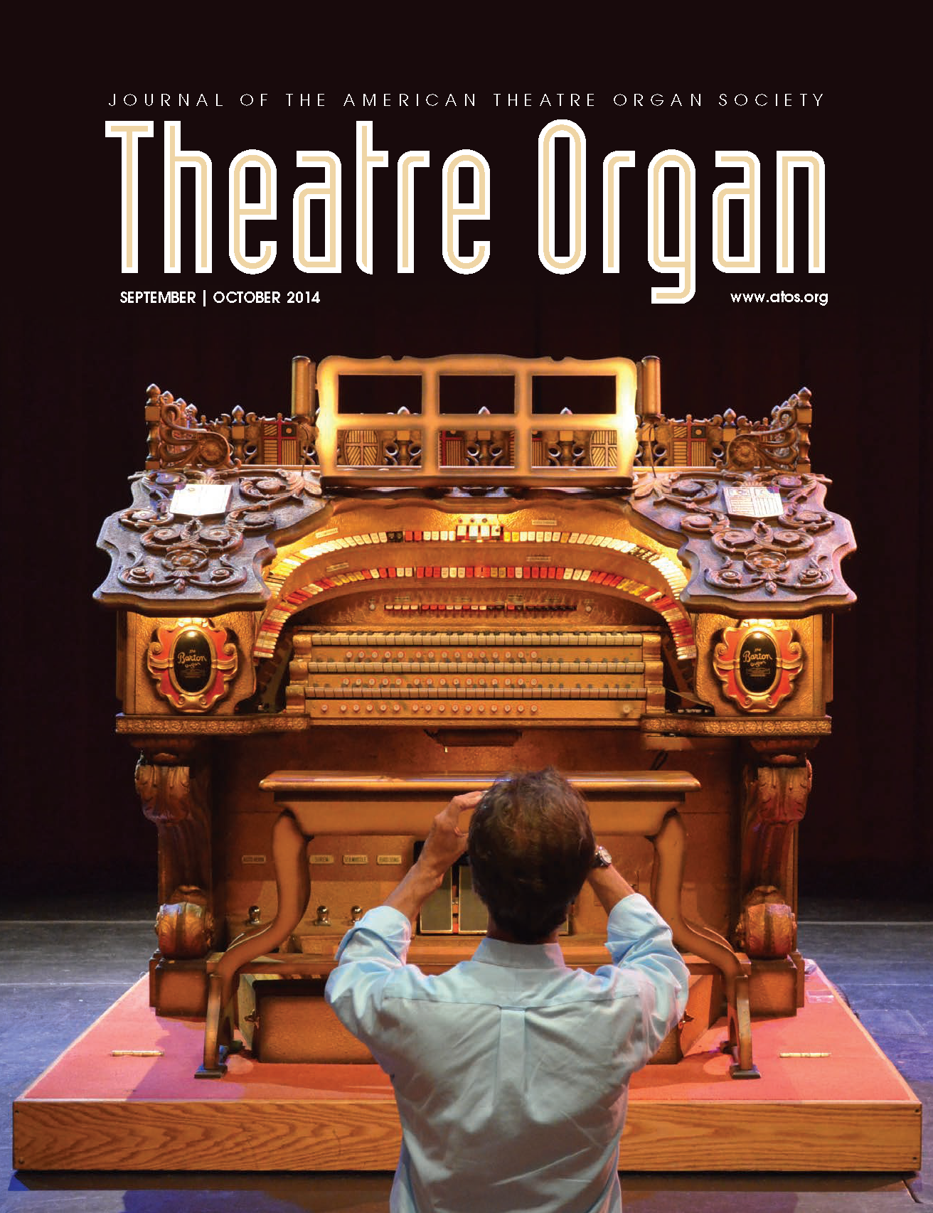 Theatre Organ, September - October 2014, Volume 56, Number 5