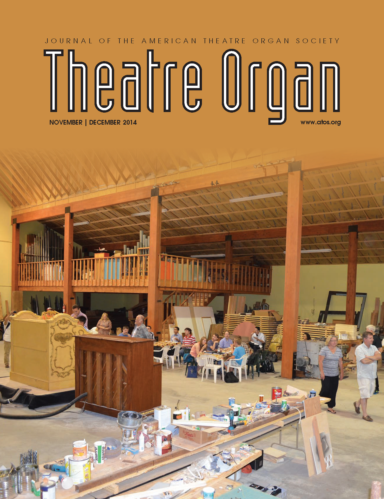 Theatre Organ, November - December 2014, Volume 56, Number 6