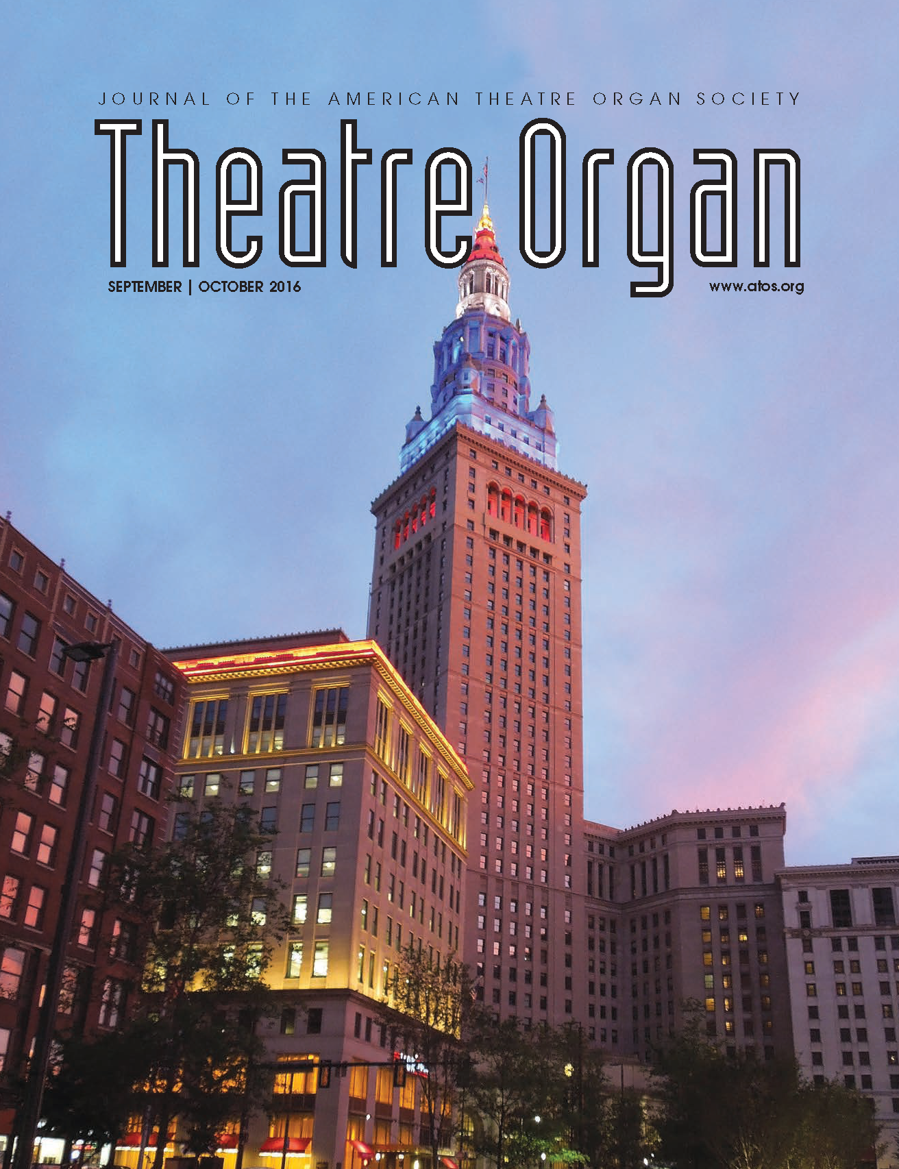 Theatre Organ, September - October 2016, Volume 58, Number 5