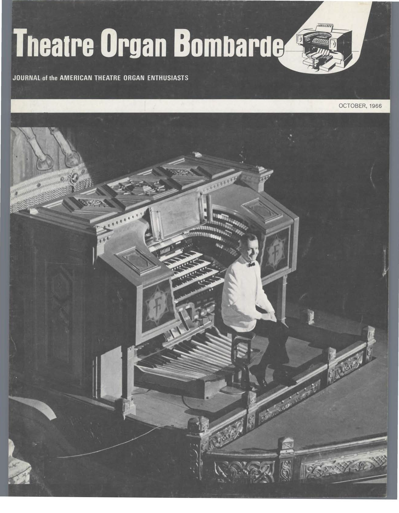 Theatre Organ, October 1966, Volume 8, Number 3