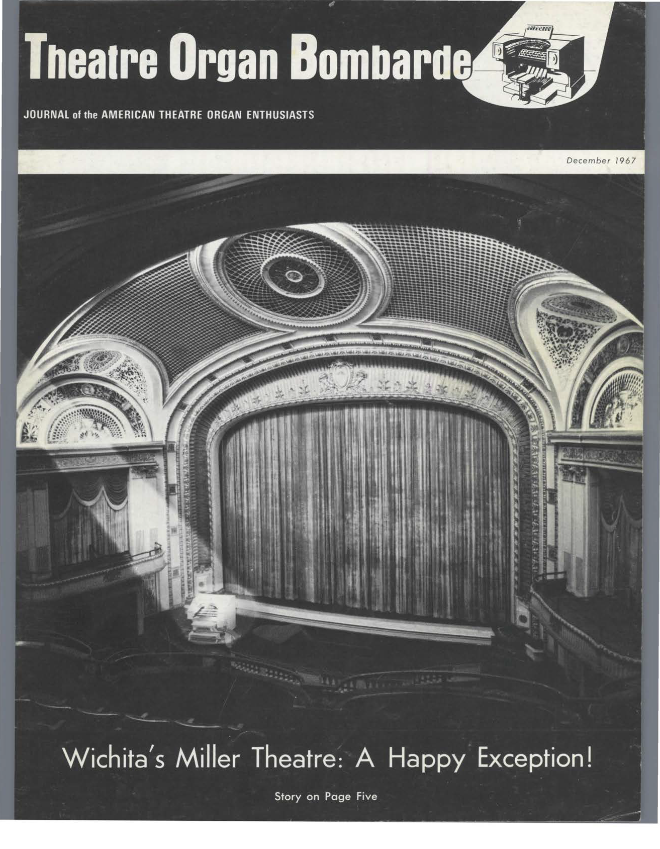 Theatre Organ, December 1967, Volume 9, Number 6