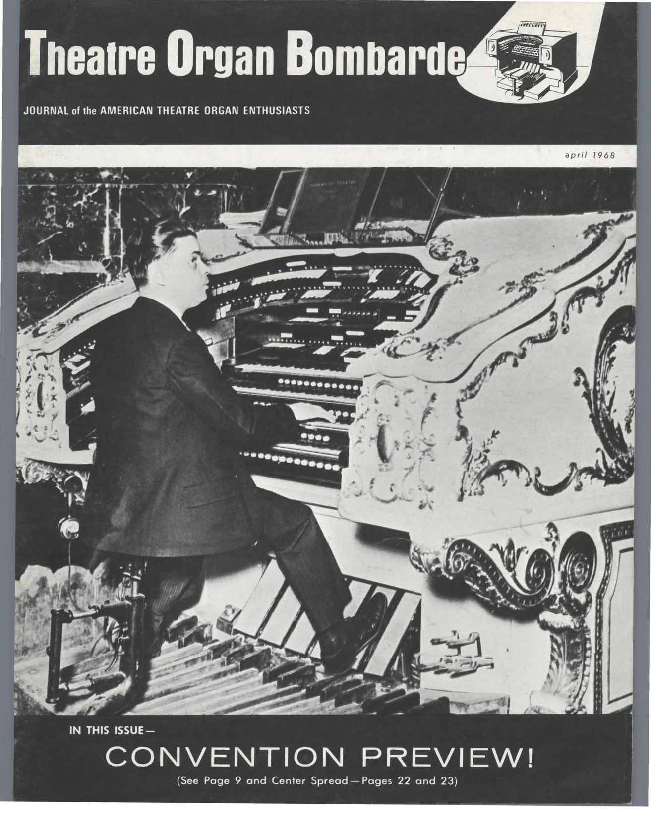 Theatre Organ, April 1967, Volume 10, Number 2