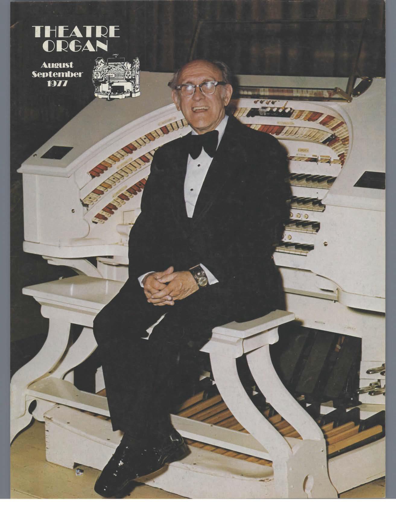 Theatre Organ, August - September 1977, Volume 19, Number 4