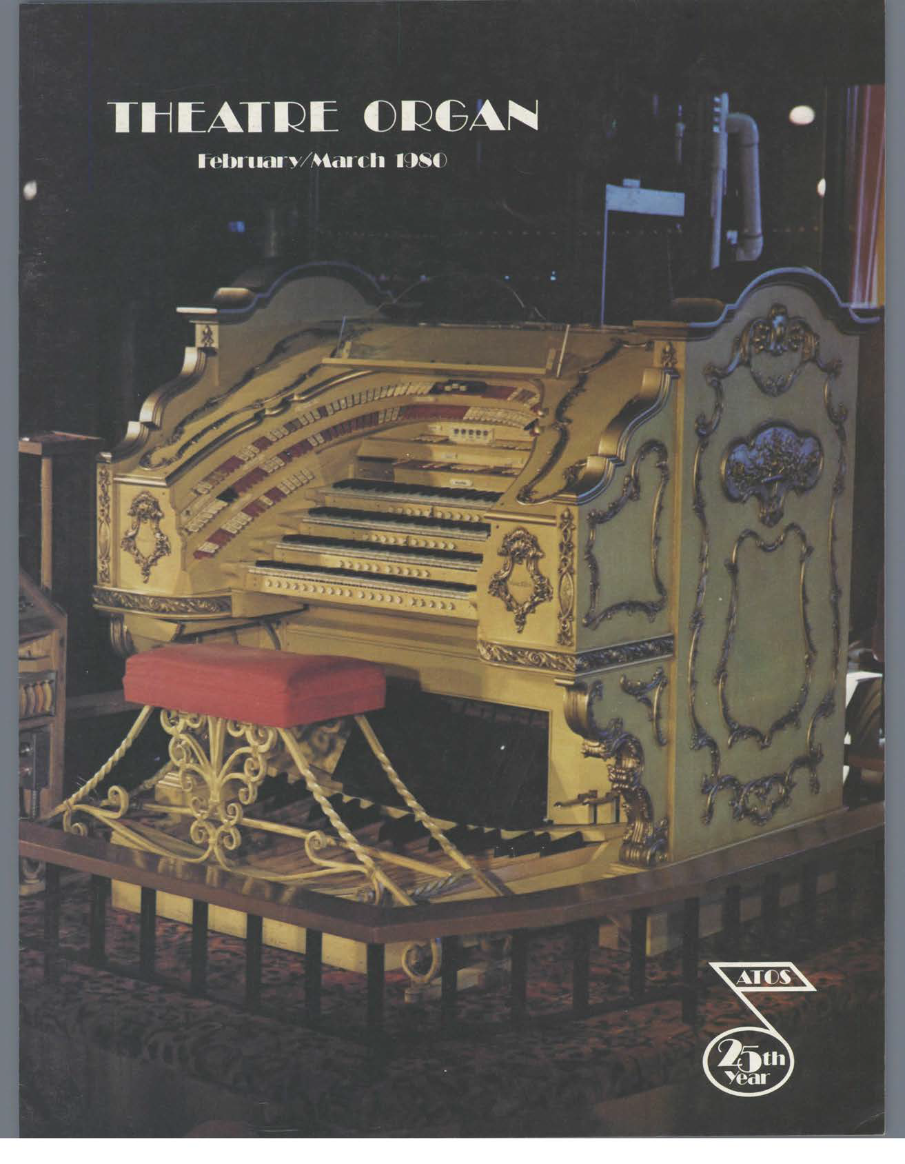 Theatre Organ, February - March 1980, Volume 22, Number 1